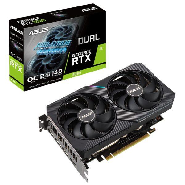 ASUS GeForce DUAL RTX 3060 OC 12GB GDDR6 Ekran Kartı Ekran Kartı en iyi fiyat