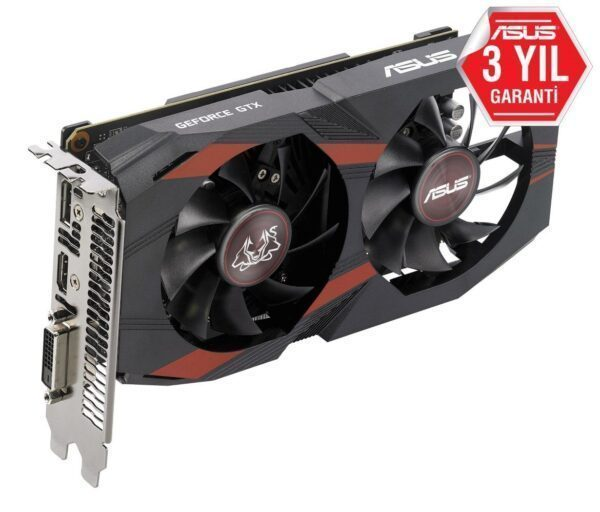 ASUS CERBERUS GeForce GTX 1050Ti OC 4GB GDDR5 128 Bit Ekran Kartı Ekran Kartı en iyi fiyat 5