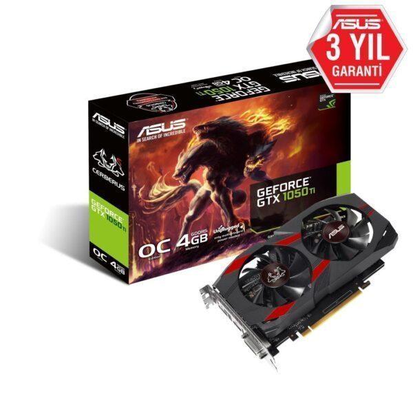 ASUS CERBERUS GeForce GTX 1050Ti OC 4GB GDDR5 128 Bit Ekran Kartı