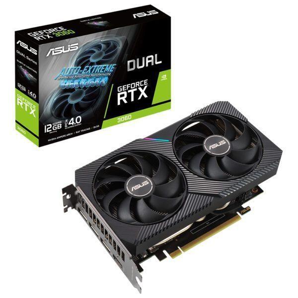ASUS GeForce DUAL RTX 3060 12GB GDDR6 192bit Ekran Kartı Ekran Kartı en iyi fiyat