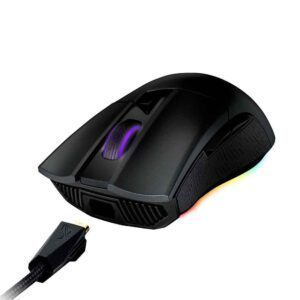 ASUS ROG Gladius II Origin 12000 DPI 6 Tuş RGB Gaming Mouse (Yedek Switch Hediyeli) - Mouse 3
