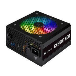 CORSAIR CX650F RGB 650W 80+ Bronze Siyah Full Modüler 120mm Fanlı PSU Güç Kaynağı - Güç Kaynağı - PSU 3