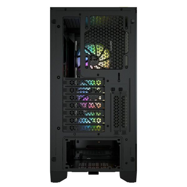 CORSAIR iCUE 4000X RGB Tempered Glass Siyah Mid Tower Kasa - Kasa 7