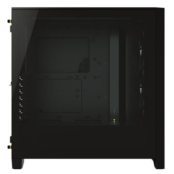 CORSAIR iCUE 4000X RGB Tempered Glass Siyah Mid Tower Kasa - Kasa 3