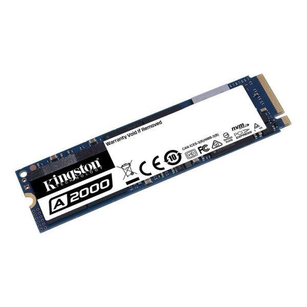 KINGSTON 1TB A2000 NVMe M.2 SSD (2200MB Okuma / 2000MB Yazma) - SSD 2