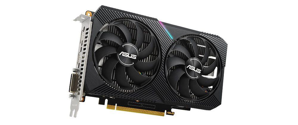 ASUS GeForce DUAL GTX 1650 MINI OC 4GB GDDR6 GAMING Ekran Kartı
