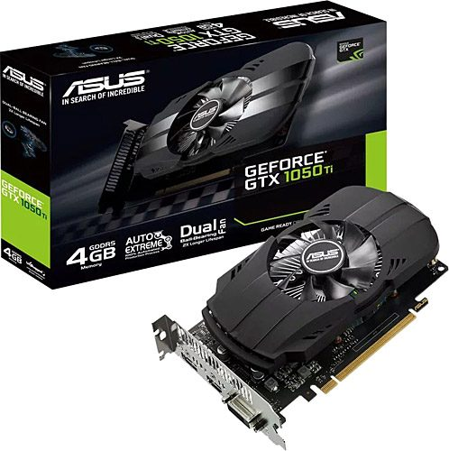 ASUS PHOENIX GeForce GTX 1050 TI 4GB GDDR5 128 Bit Ekran Kartı - Ekran Kartı