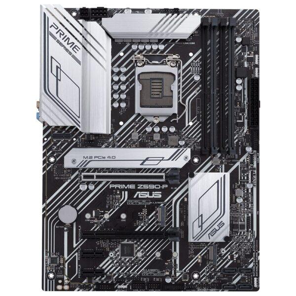 ASUS PRIME Z590-P 5133(OC)MHz DDR4 Soket 1200 M.2 HDMI DP ATX Anakart