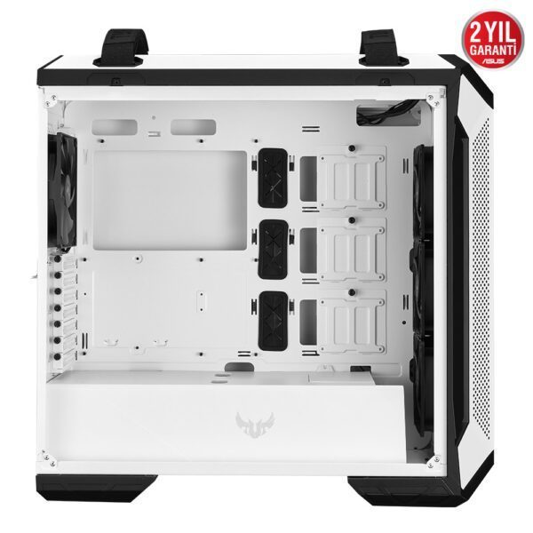ASUS TUF Gaming GT501 White Edition RGB Tempered Glass Mid Tower Kasa - Kasa 4