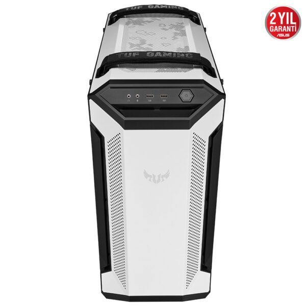 ASUS TUF Gaming GT501 White Edition RGB Tempered Glass Mid Tower Kasa - Kasa 6