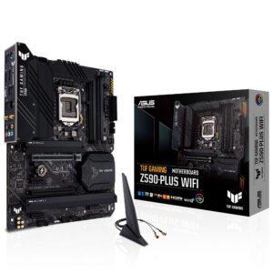 ASUS TUF GAMING Z590-PLUS WIFI Intel Z590 DDR4 5133MHz(OC) Anakart Anakart en iyi fiyat 2
