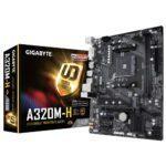 GIGABYTE A320M H 3200MHz(OC) DDR4 Soket AM4 M.2 HDMI DVI mATX Anakart