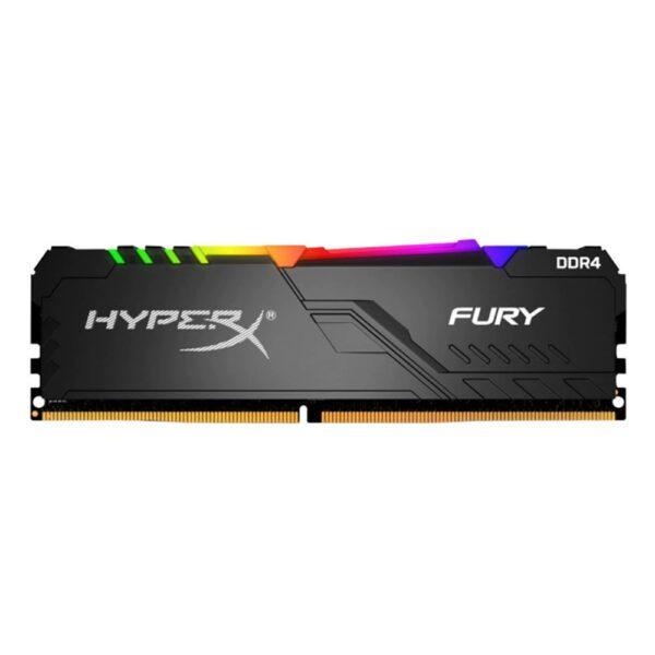 HYPERX 8GB Fury RGB 3600MHz CL17 DDR4 Single Kit Ram - RAM Bellek