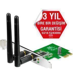 Asus PCE-N15 Wireless-N 300mbps PCI Express Adaptör - Ağ ürünleri