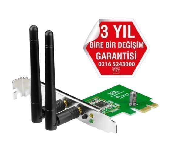 Asus PCE-N15 Wireless-N 300mbps PCI Express Adaptör