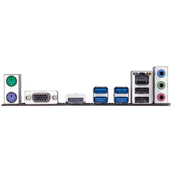GIGABYTE B450M H 3600MHz(OC) DDR4 Soket AM4 M.2 VGA HDMI mATX Anakart Anakart en iyi fiyat 5