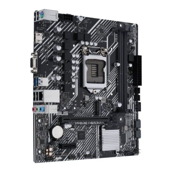 ASUS PRIME H510M-K 3200MHz(OC) DDR4 Soket 1200 M.2 HDMI VGA mATX Anakart Anakart en iyi fiyat 3