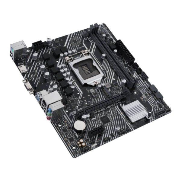 ASUS PRIME H510M-K 3200MHz(OC) DDR4 Soket 1200 M.2 HDMI VGA mATX Anakart Anakart en iyi fiyat 4