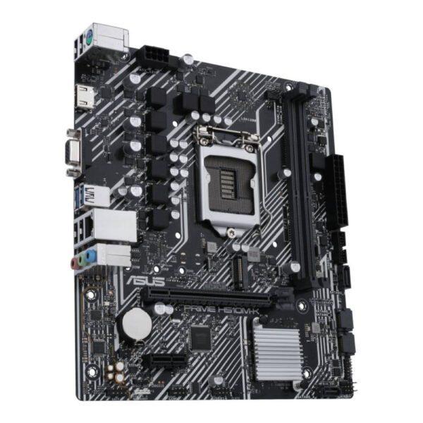 ASUS PRIME H510M-K 3200MHz(OC) DDR4 Soket 1200 M.2 HDMI VGA mATX Anakart Anakart en iyi fiyat 5