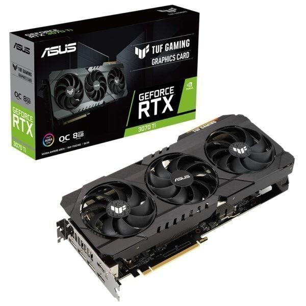 Asus Tuf Geforce Rtx 3070 Ti Gaming Oc 8gb Gddr6x 256 Bit Ekran Karti