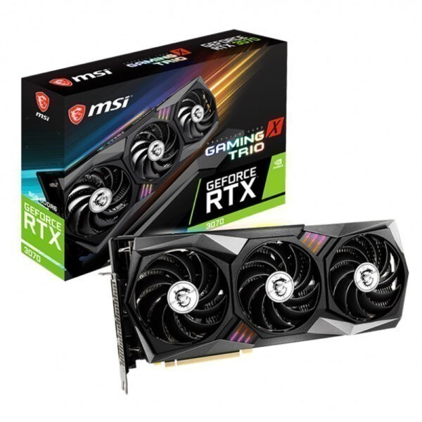 Msi Geforce Rtx 3070 Gaming X Trio 8gb Gddr6 256 Bit Ekran Karti