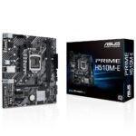 Asus Prime H510m E 3200ocmhz Ddr4 Soket 1200 M 2 Hdmi Dp Vga Matx Anakart