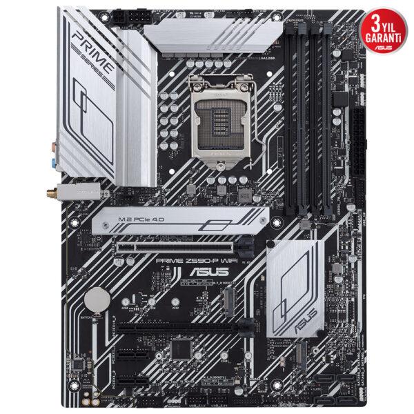 Asus Prime Z590 P Wifi 5133ocmhz Ddr4 Soket 1200 M 2 Hdmi Dp Atx Anakart 1