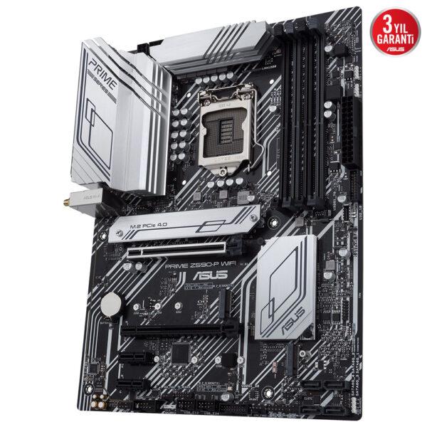 Asus Prime Z590 P Wifi 5133ocmhz Ddr4 Soket 1200 M 2 Hdmi Dp Atx Anakart 2