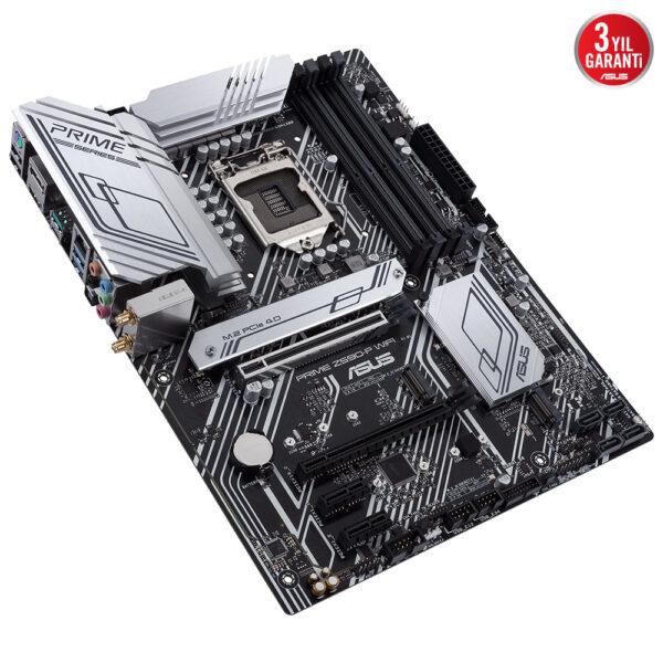 Asus Prime Z590 P Wifi 5133ocmhz Ddr4 Soket 1200 M 2 Hdmi Dp Atx Anakart 4