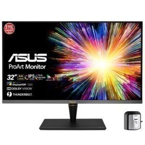Asus Proart 32 Pa32ucx K 5ms 60hz Thunderbolt Ips 4k Ultra Hd Adaptive Sync Monitor