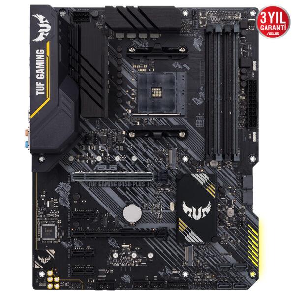 Asus Tuf Gaming B450 Plus Ii 4400mhzoc Ddr4 Soket Am4 M 2 Atx Anakart 1