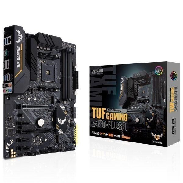 Asus Tuf Gaming B450 Plus Ii 4400mhzoc Ddr4 Soket Am4 M 2 Atx Anakart