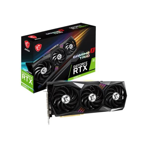 Msi Geforce Rtx 3080 Ti Gaming X Trio 12gb Gddr6x 384bit Ekran Karti