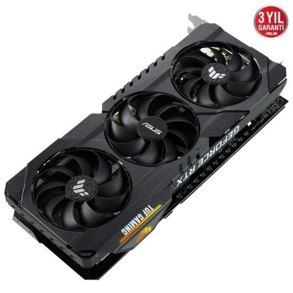 Asus Geforce Rtx 3060 Ti Tuf Gaming V2 Oc 8gb Gddr6 256 Bit Ekran Karti 4