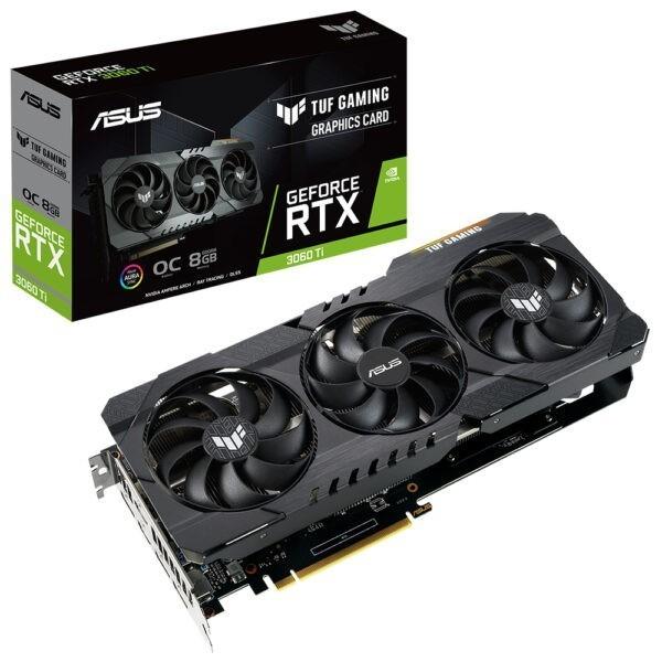 Asus Geforce Rtx 3060 Ti Tuf Gaming V2 Oc 8gb Gddr6 256 Bit Ekran Karti