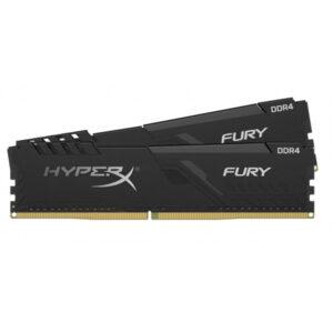 Hyperx 16gb 2x8gb Fury Siyah 3200mhz Cl16 Ddr4 Dual Kit Ram