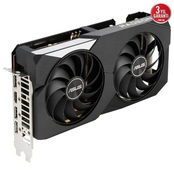 Asus Radeon Rx 6600 Xt Dual Oc 8gb Gddr6 128 Bit Ekran Karti 7