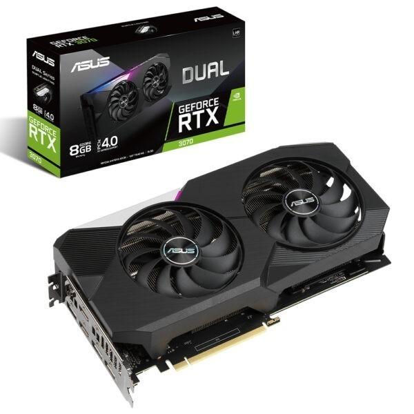 Asus Dual Geforce Rtx 3070 V2 8gb Gddr6 256bit Ekran Karti