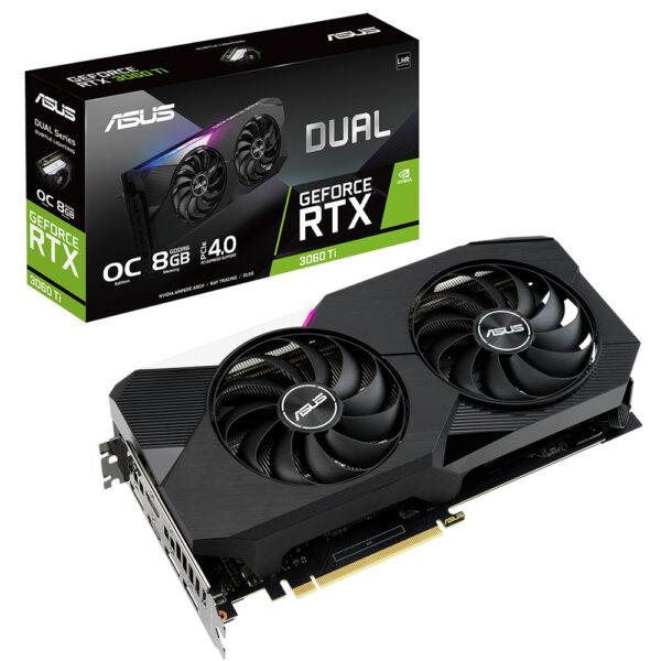 Asus Geforce Rtx 3060 Ti Dual V2 Oc 8gb Gddr6 256 Bit Ekran Karti