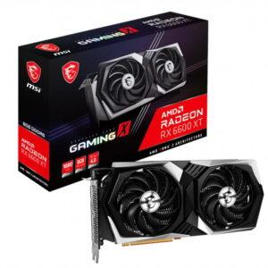 Msi Radeon Rx 6600 Xt Gaming X 8gb Gddr6 128bit Amd Ekran Karti
