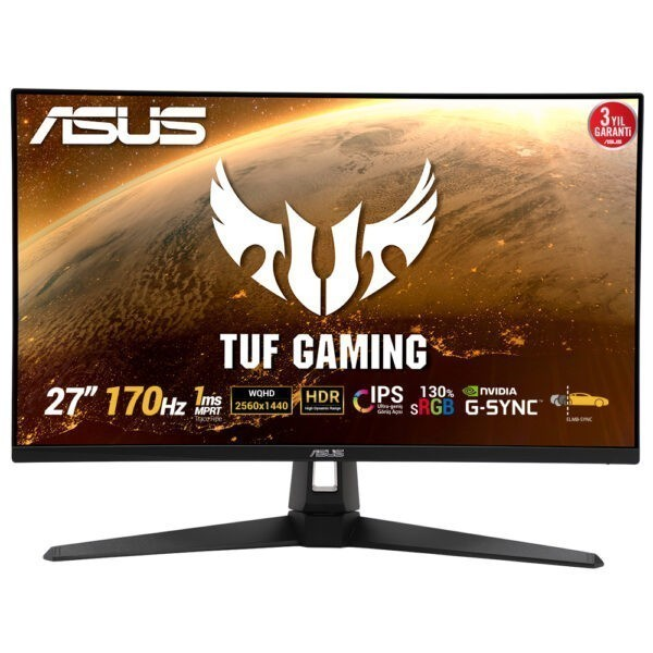 Asus Tuf Gaming Vg27aq1a 27 170hz 1ms Ips G Sync Qhd Monitor