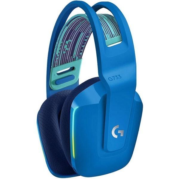 Logitech G G733 Kablosuz Rgb 7 1 Surround Ses Oyuncu Kulakligi Mavi 1
