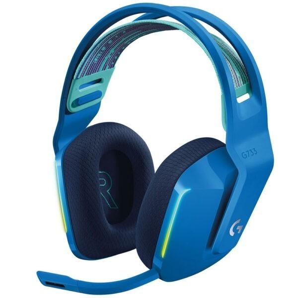 Logitech G G733 Kablosuz Rgb 7 1 Surround Ses Oyuncu Kulakligi Mavi