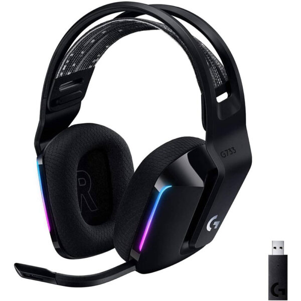 Logitech G G733 Kablosuz Rgb 7 1 Surround Ses Oyuncu Kulakligi Siyah